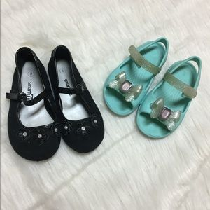 Bundle! Two pair of toddler shoes.